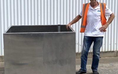 WaterUps® launches new aluminium wicking tree planter range