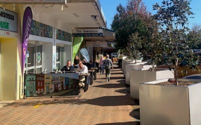 How WaterUps® helped improve the Forbes city centre streetscape