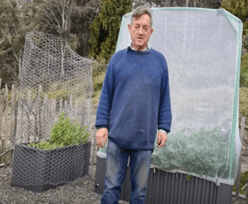 Angus Stewart road tests the Oasis 1680 Garden Bed Cover